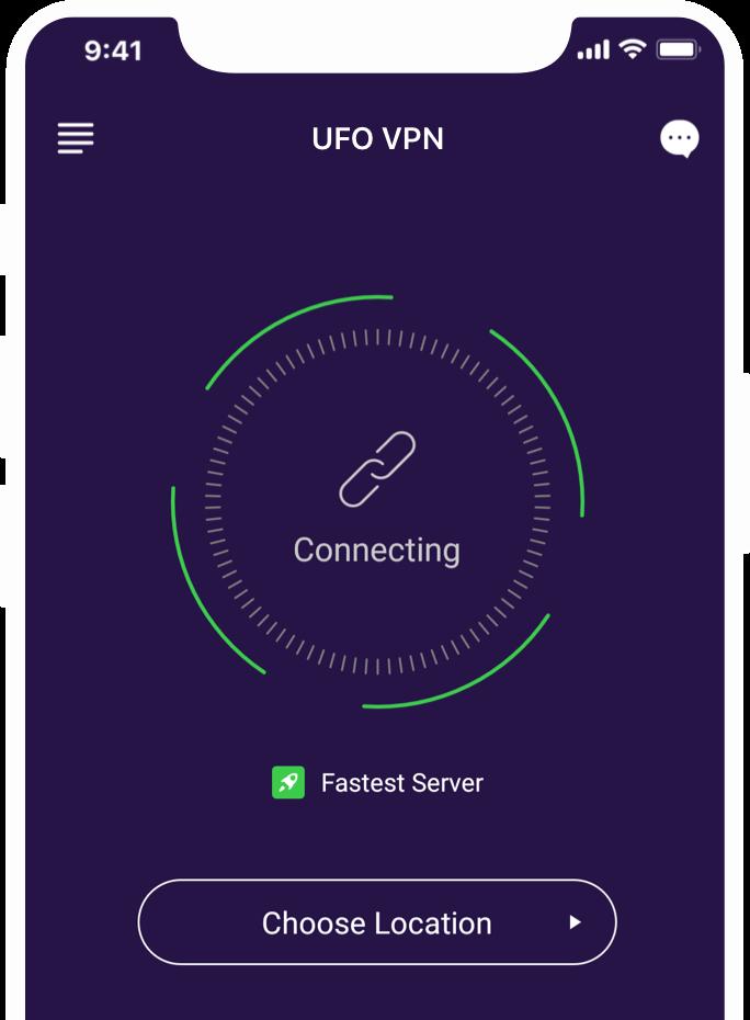 Download Best VPN for iOS - UFO VPN